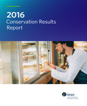 Link to IESO 2016 Conservation Results Report