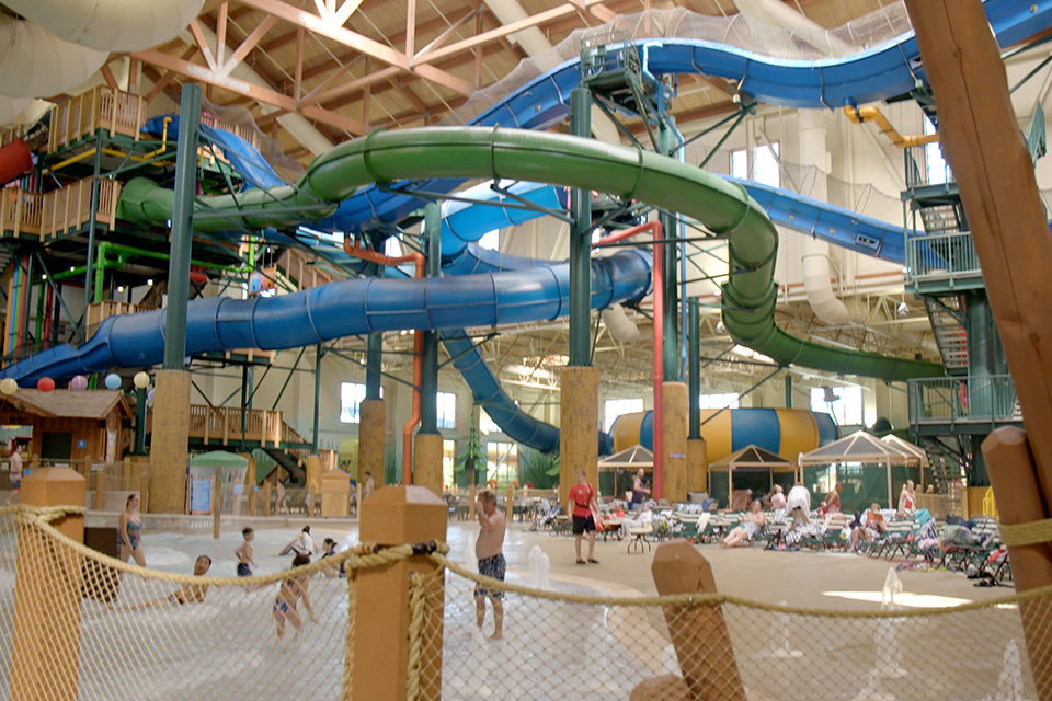 Waterpark at Great Wolf Lodge