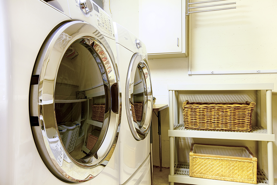 energy-efficient front loading washer and dryer
