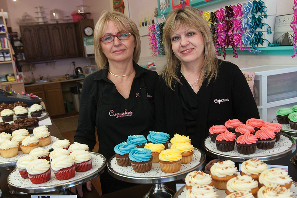 Anne Campagna and her business partner, Marilyn Gouchie